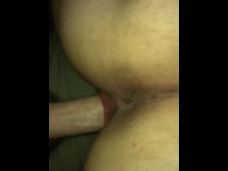 POV doggy style, nice and slow