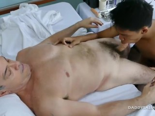 Daddy and Marcon Barebacking