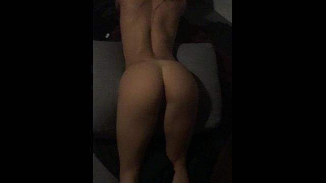 Perfect ass in prone bone position with cumshot 6