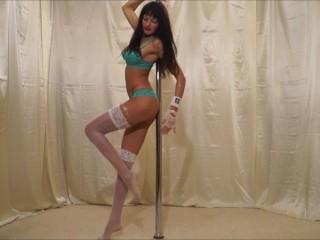 my sexy pole dancing