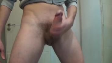 Marlonbisex pushing masturbation my hard cock hard sneezes milk