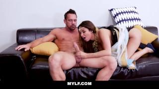 Milf grinding mylf exotic cock brunette big