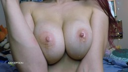 NO NUT NOVEMBER, TRY NOT TO CUM TO THESE BIG OILED UP BOOBIES!!