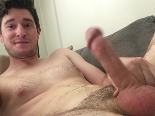 RighteousRod loves teasing his cock