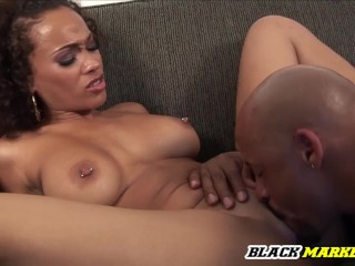 Curly Haired Sexy Latina Girl Gets Fucked By BBC