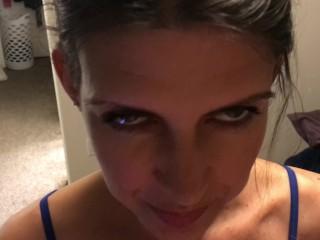 Homemade blowjob facial before bedtime...