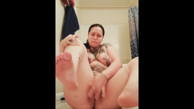 Soles  Pussy Show On Snapchat Before Bed - Foot Fetish  Masturbation -4186