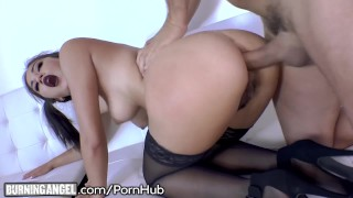 BurningAngel Teen Goth Kendra Spade Assfucked by DILF Dick