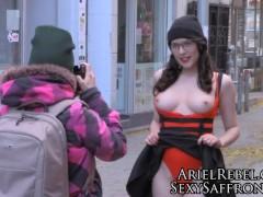 Ariel Rebel Public Nude Photoshoot Vlog TEASER