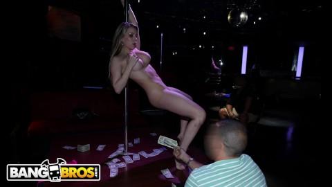 Real fucking in strip club