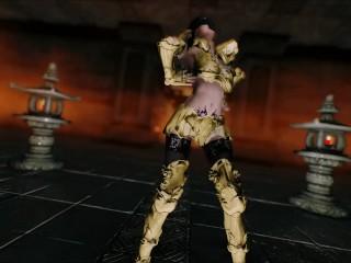 Elder Scrolls V Skyrim mmd Dance Marionette