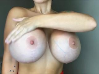 MILF Brittany on Social Media Striptease