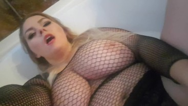 MUST SEE! Watch me stuff a fat huge dildo in my pussy!