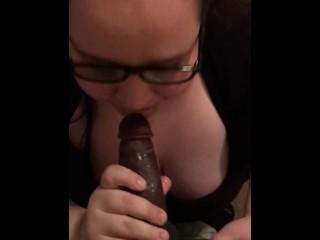 BBW Milf Takes My Big Black Cock