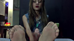@PORNHUB EXCLUSIVE! 3 TOP TIER NYLON FOOTJOB CLIP CUMPILATION.