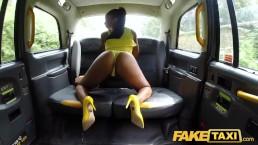 Fake Taxi Lovely ebony beauty Lola Marie empties cabbies balls