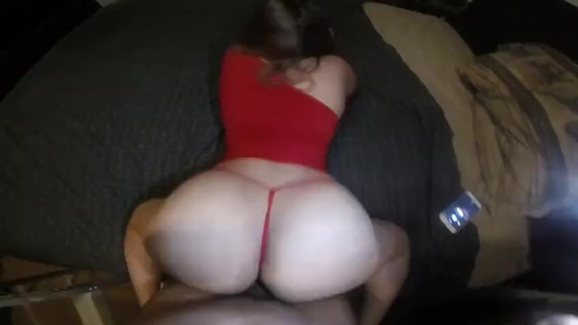 Big booty Latina in red dress gets Fucked 3