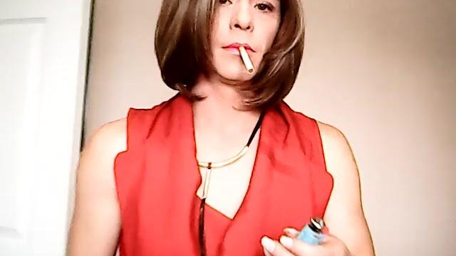 Amateur;Transgender;Smoking;Exclusive;Verified Amateurs;Solo Trans smoke, smoking, smoking-sissy