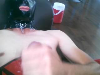 Latex cum on me