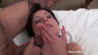 Tiny housewife Pixie gets a licking and a fucking