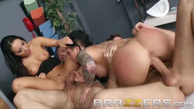 Asian;Big Tits;Brunette;Hardcore;Pornstar;Tattooed Women doctoradventures, bubble-butt, big-boobs, brunette, brazzers, big-tits, uniform, nurse, doctor, roleplay, 4some, foursome, group, brazzers-free, brazzers-network, brazzers-porno