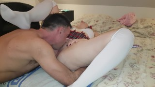 Screen Capture of Video Titled: He love lick my pussy :)