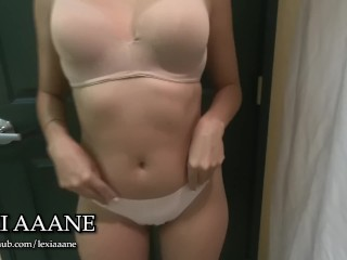Almost got Caught giving my Step Brother a Long Blowjob - Lexi Aaane