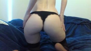Sexy School Girl Strip and Masturbation