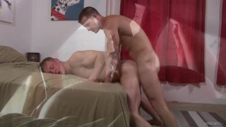 ActiveDuty Cute & Straight Military Boys Have Raw Anal Sex