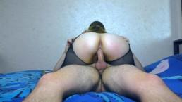 Teen Big Ass Pussyjob in Nylon - Pantyhose Cum Ass Amateur Sex