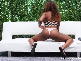 Gorgeous thick tries out for...