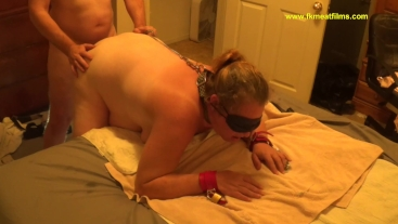 2018-10-10 S2C1 Standing Doggy Style BBW BDSM Anal Squirt Slave