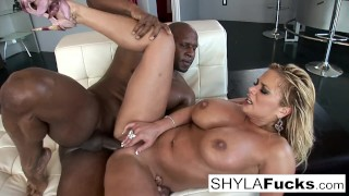 Shyla Takes A Big Cock