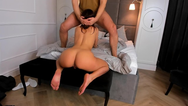 Sexy Blonde Teen Riding Dildo