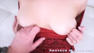 TINY TEENS Sucking Cock Getting Choked & Fucked
