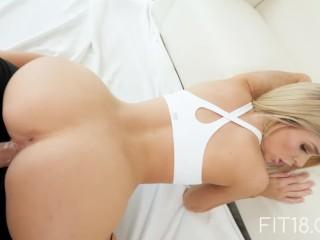 FIT18 - Emma Hix - 47kg - Casting Skinny Canadian Blonde - 60FPS