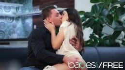 BABES - Hot couple make a romantic sextape