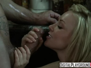 Digital Playground - Kayden Kross Gets fucked by Nacho Vidal on the kitche