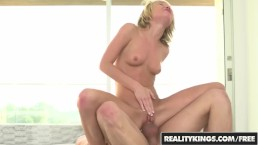 REALITY KINGS - Hot young spinner Dakota Skye get stretched byXander Corv