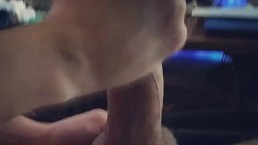 Great handjob cum load and loud orgasm
