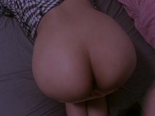 Submissive girl ass spanking...