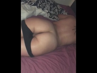 My bf's boy woke me up to fuck & got me so wet (we almost got caught)