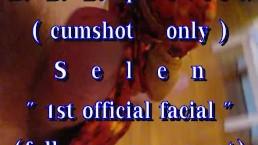 "B.B.B. preview: Selen ""1st official facial"" cumshot only AVIL no SloMo"