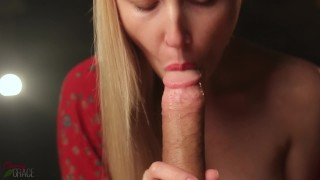 Gorgeous Sensual Blowjob With Oral Creampie - Cherry Grace