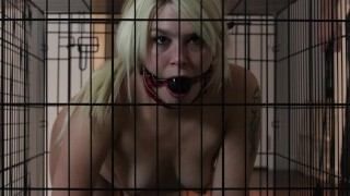Abby Marie - Caged, disciplined and brought to tears