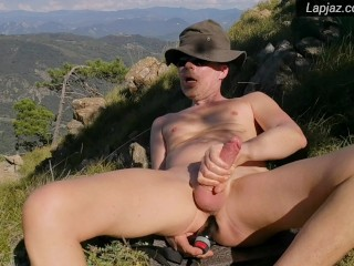 Solo Male Mountain Top Dildo Fucking Nature - Lapjaz.com Ecosexual Ecoporn