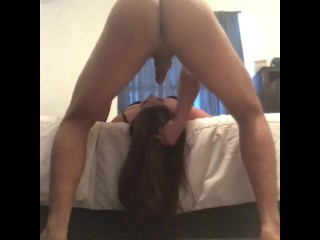 Mexican whore get face throat mouth fucked oral creampie no gag reflex