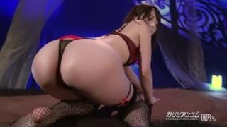 Screen Capture of Video Titled: 【無】ストリップ劇場 波多野結衣 Yui Hatano