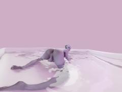 MASS EFFECT FUTA LIARA BATH TEASE 4K VR [ANIMATION BY LIKKEZG]