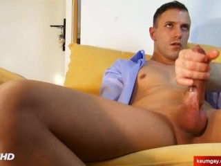 Juan my neighbour serviced in a gay porn in spite of him !